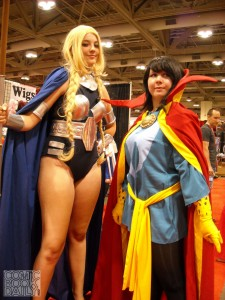 Valkyrie and Doctor Strange