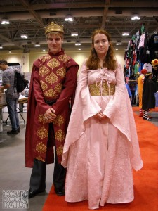 King Joffrey and Sansa