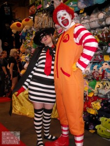 Hamburglar and Ronald McDonald