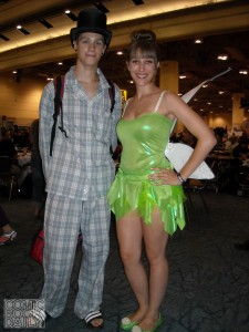 John Darling and Tinker Bell