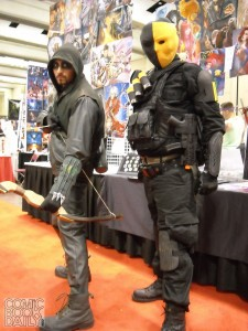 Green Arrow and Deathstroke - Arrow