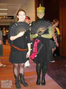 Jenny Flint and Madame Vastra