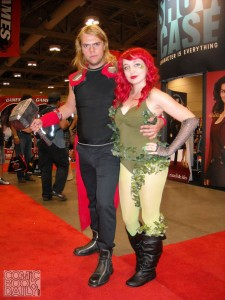 Thor and Poison Ivy