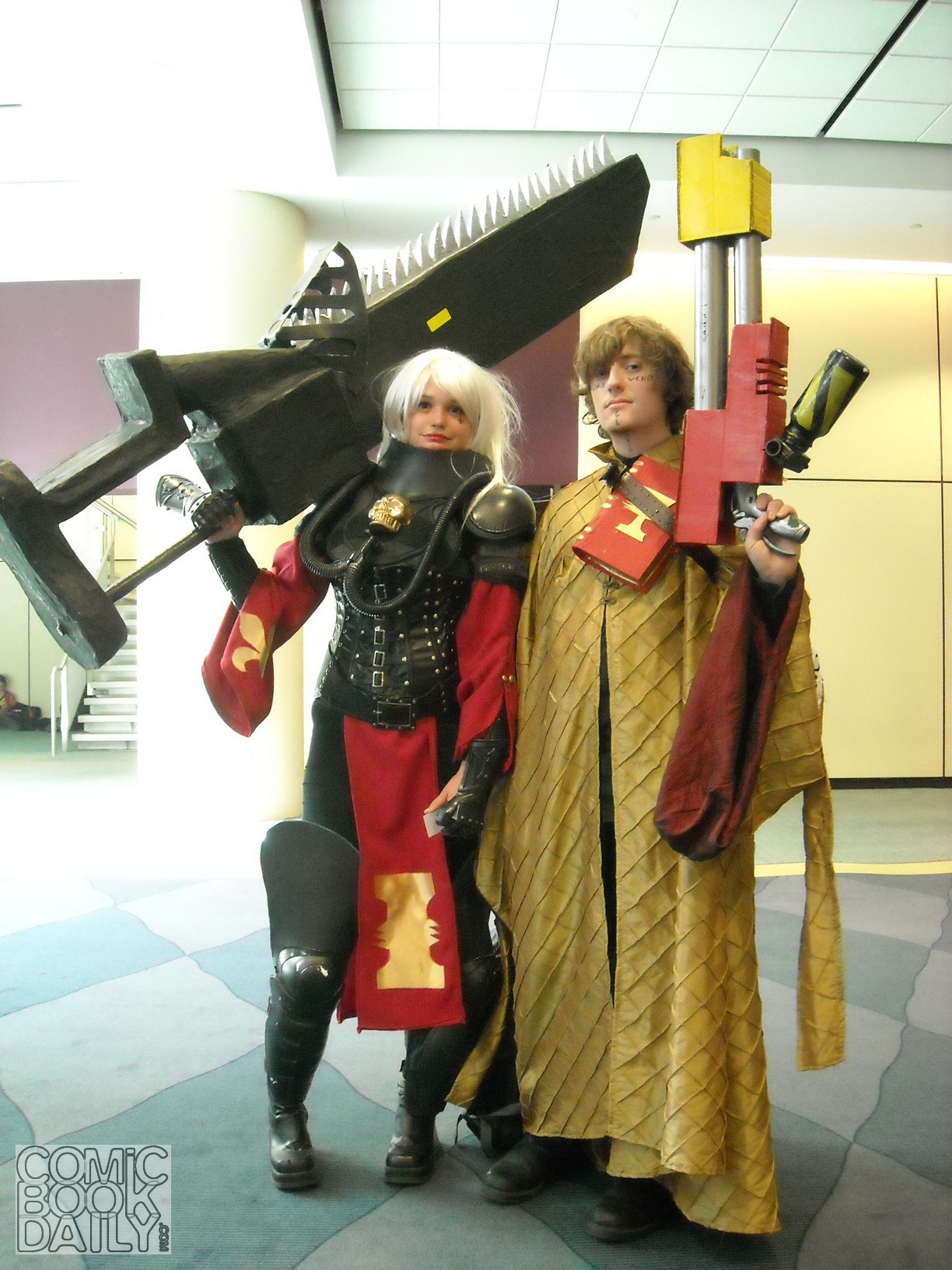 Cosplaying with Weapons