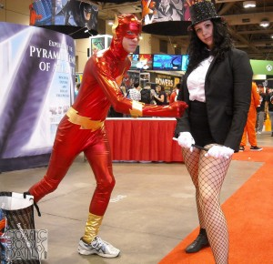 Flash and Zatanna