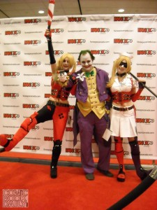 Harley Quinns and Joker