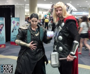Fan Expo - Thor and Loki