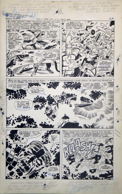 Fantastic Four issue 61 page 24 by Jack Kirby and Joe Sinnott. Source.