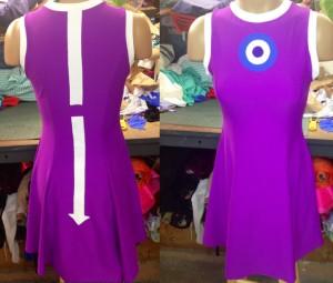 Suckers Apparel Hawkeye Themed Dress