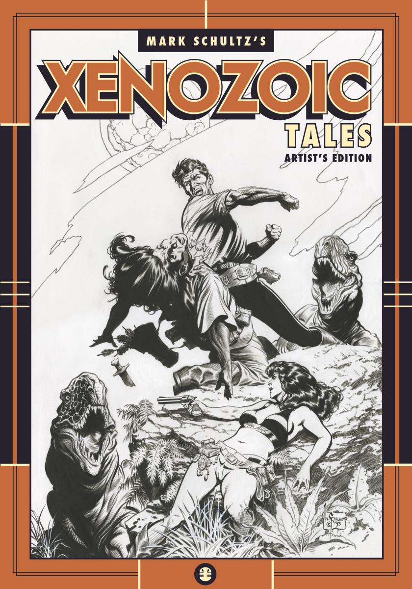 Review   Mark Schultz's Xenozoic Tales Artist's Edition