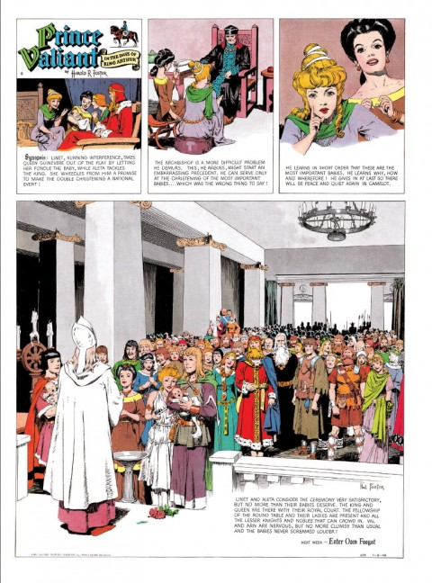 Prince Valiant Vol 7 1949-1950 interior 1