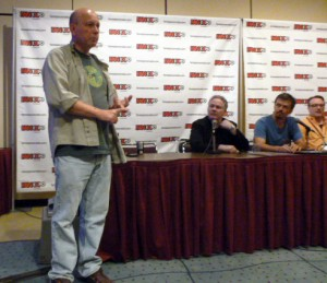 Ivan Kocmarek moderating the panel