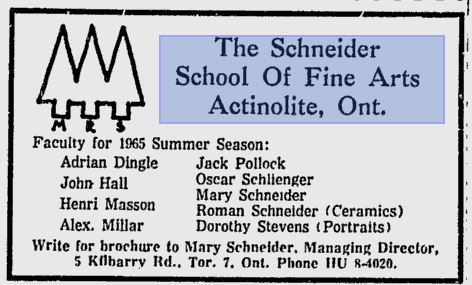 From the Ottawa Citizen May 11, 1965.