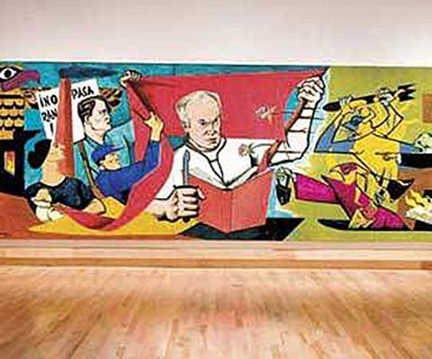 Norman Bethune Mural