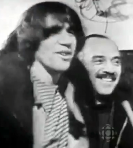 Avrom with his son musician Zal Yanovsky of the Lovin' Spoonful in the mid-sixties