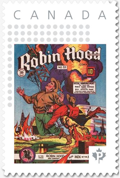 Robin Hood Comics Vol. 5 No. 33