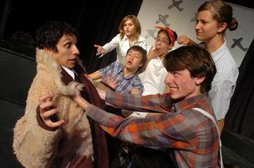 "The People's Studio Theatre Company doing ""Johnny"""