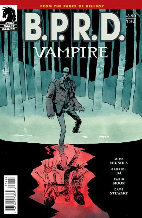 BPRD VAMPIRE #1 cover