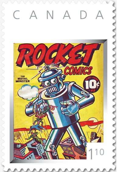 Rocket Comics Vol. 2 No. 2