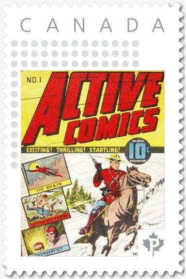 Active Comics No. 1