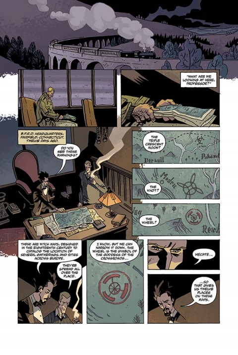 BPRD VAMPIRE #2, page 1