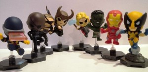 Marvel Avengers Grab Zag Mini  Figures
