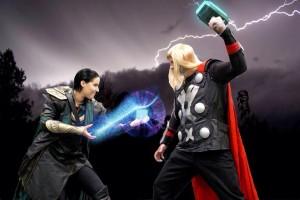 Thor and Loki Fan Expo 2013