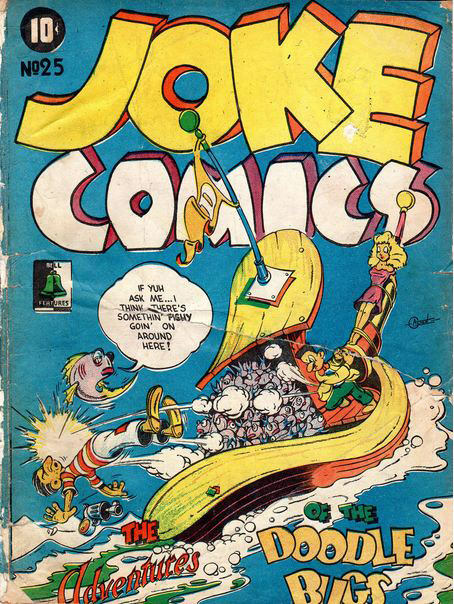 Ed Alton's only cover on Joke 25