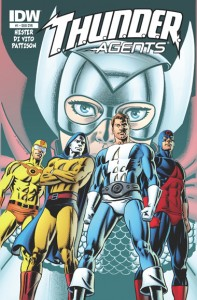thunder agents 1 idw