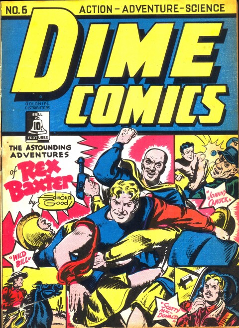 Dime Comics No. 6 cover by Edmond Good