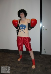 Boxer Luffy