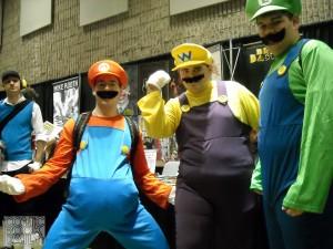 Mario, Wario and Luigi