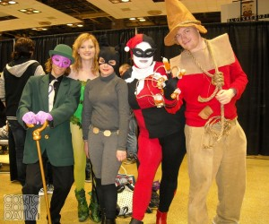 Riddler, Poison Ivy, Catwoman, Harley Quinn and Scarecrow