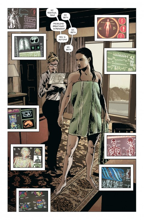 Lazarus Vol 1 Interior 1