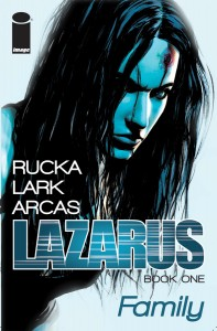 Lazarus Vol 1 cover