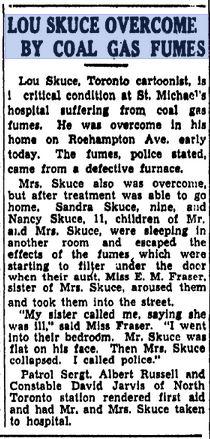 Toronto Daily Star September 28, 1945.