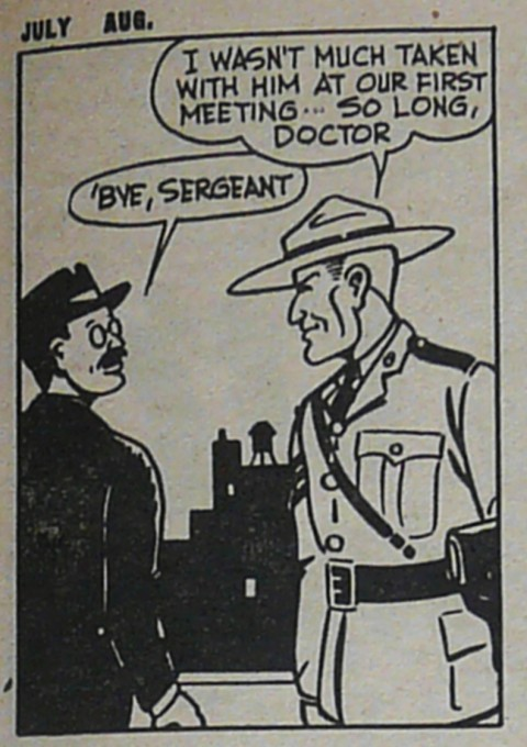 Spike Brown's version of Sgt. Canuck from Bing Bang Comics V. 3 No. 29