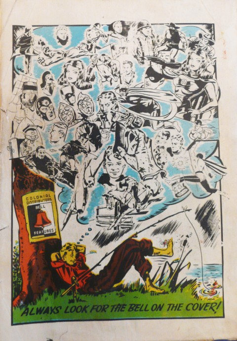 Colossal Comics back cover