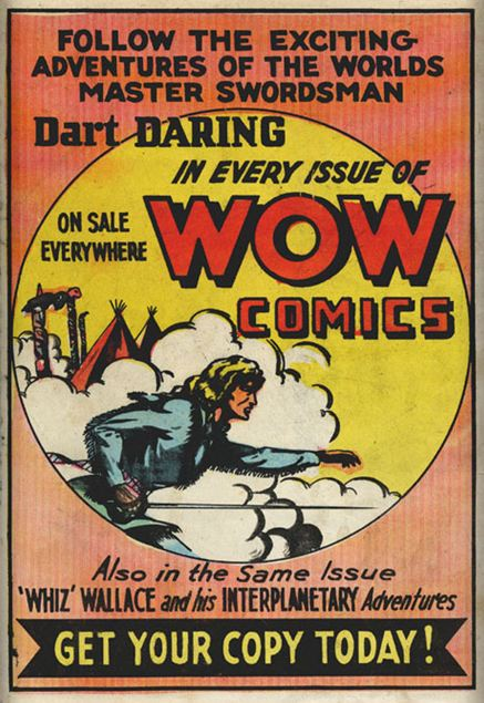 From Dime Comics No. 1
