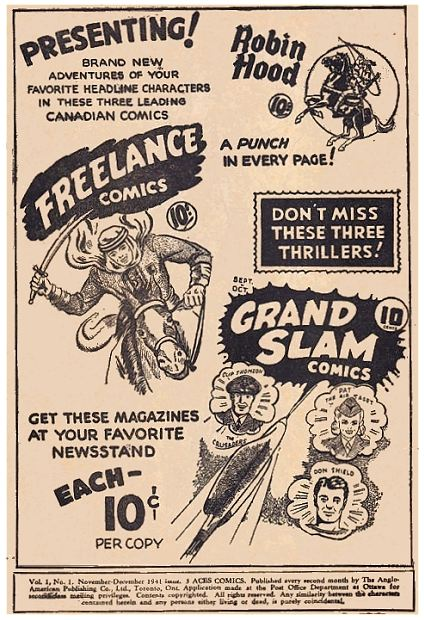 Freelance Comics No. 1