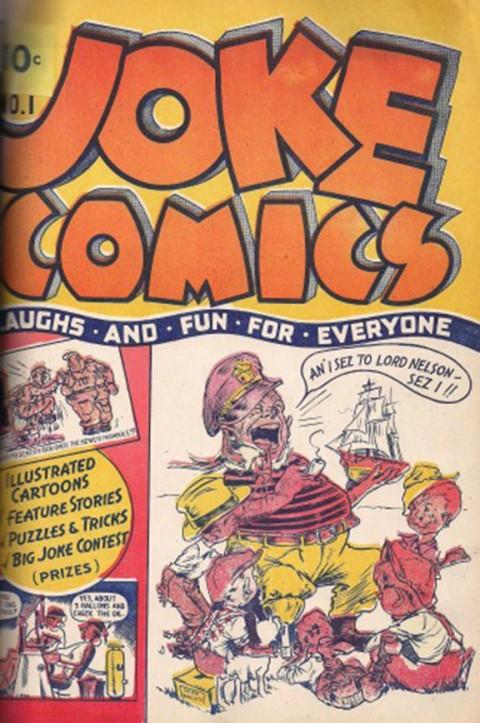 Cover for Joke Comics No. 1.