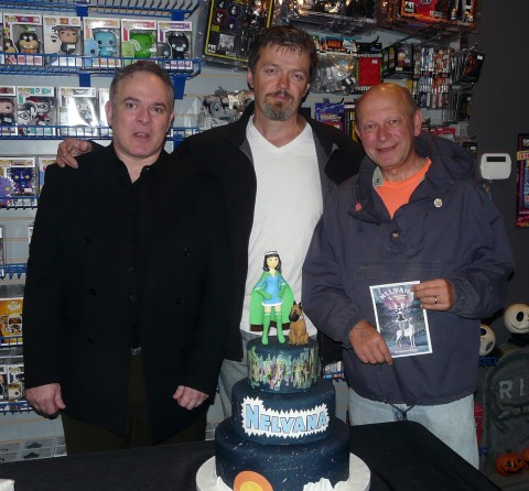 Stephen Lipson, Walter Durajlija, and Ivan Kocmarek (three quarters of the Whites Initiative Team - missed you Jim)