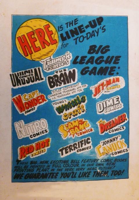 Slam-Bang Comics No. 8