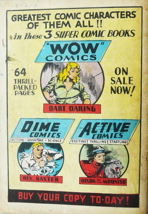Wow Comics Vol. 1 No. 5