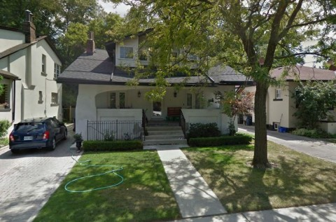 House at 7 Wellwood Ave., Toronto today. Was this where F. E. Howard Publications was located?