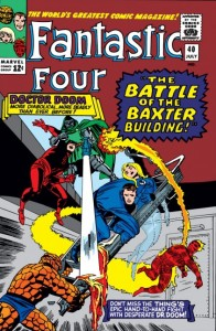 Fantastic Four issue 40 cover