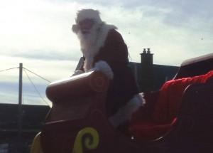 Niagara Falls Santa