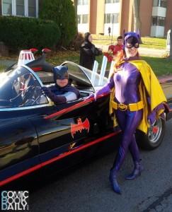 Niagara Falls Santa Claus Parade Batmobile