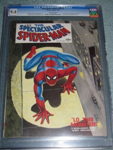 Spectacular Spider-Man magazine issue 1