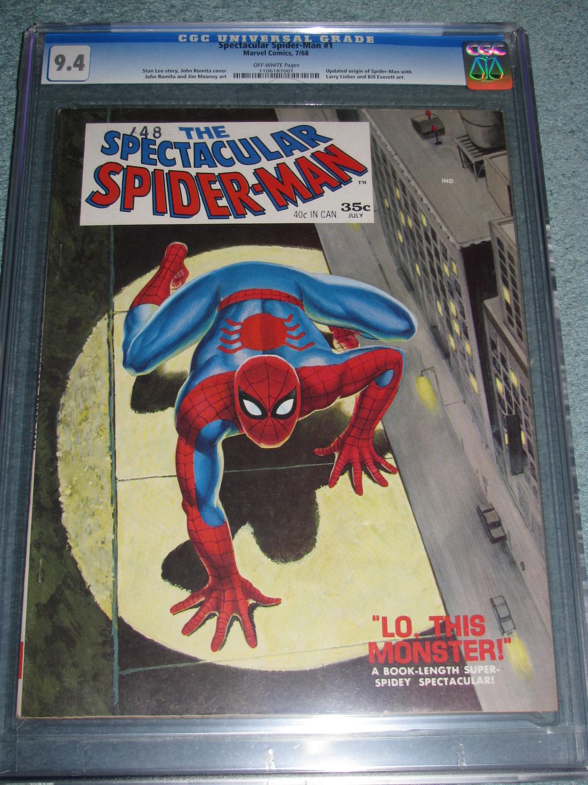 Spectacular Spider-Man #1 Magazine 1968